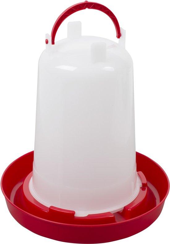Bajonetdrinker inhoud 1,5 liter Rood
