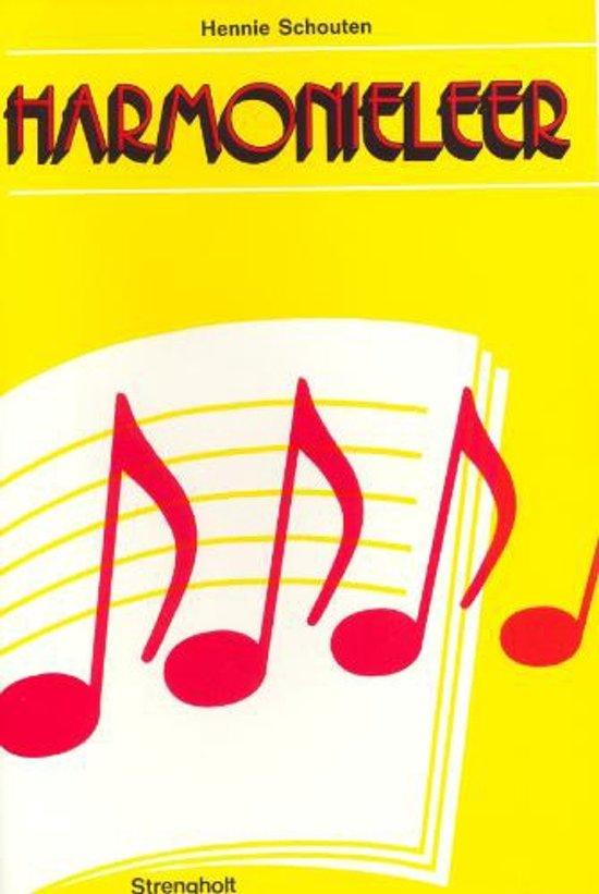Cover van het boek 'Harmonieleer' van Hennie Schouten