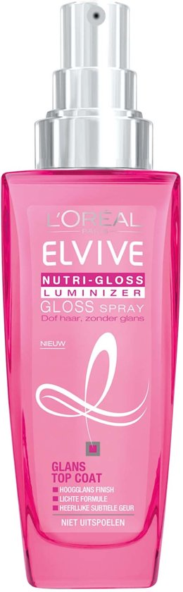 L'Oréal Paris Elvive Nutri-Gloss Luminizer Gloss Spray - 100ml - Haarspray