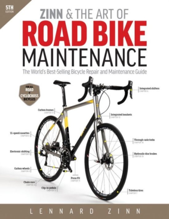 bol com zinn the art of road bike maintenance lennard zinn rh bol com TV Repair Manual Bicycle Repair Clip Art