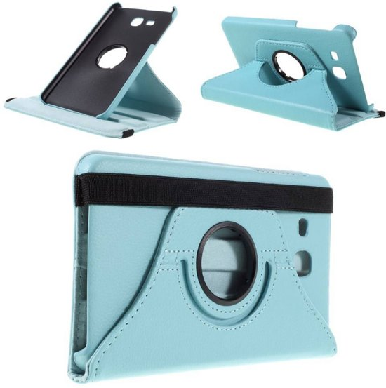 Draaibare hoes Samsung Galaxy Tab A 7.0 lichtblauw