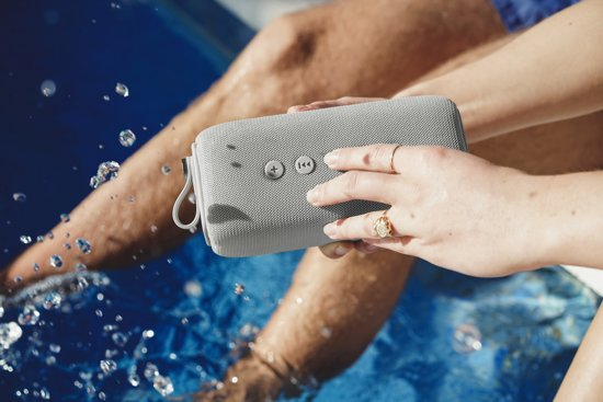 Fresh 'n Rebel Rockbox Bold M Waterproof Wit