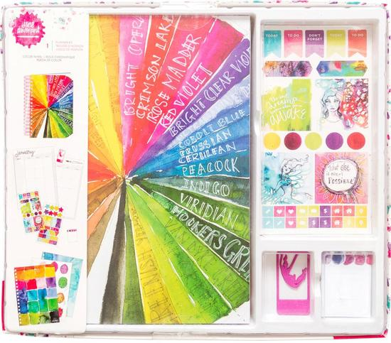 Jane Davenport Planner Kit Color Wheel 320751