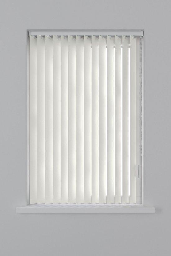 Decosol lamellen kunststof - 150x250 cm - gebroken wit