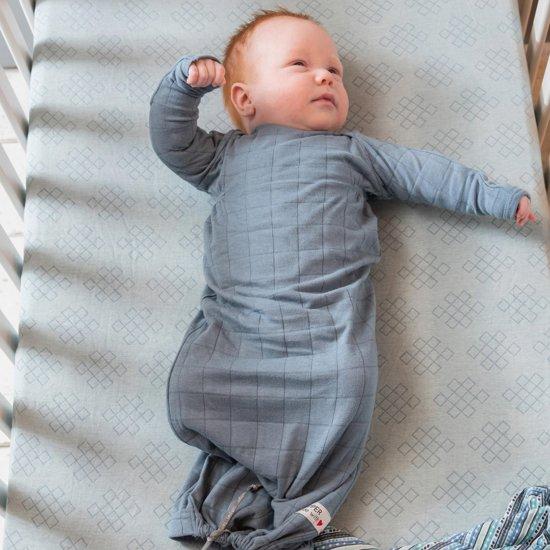Lodger Baby slaapzak - Hopper Newborn Solid - Blauw - 0-4 mnd