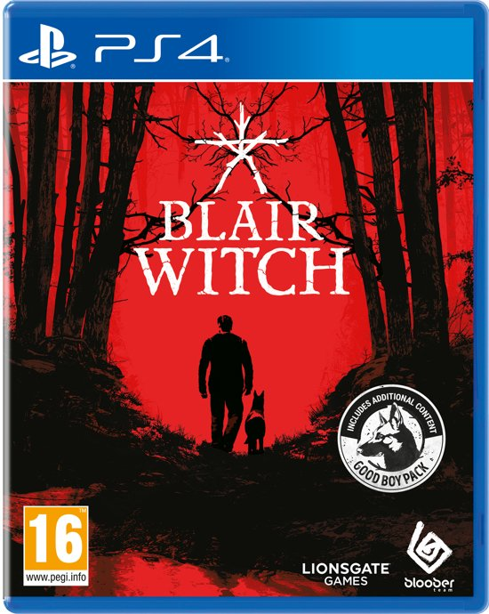 Cover van de game Blair Witch Project - PS4