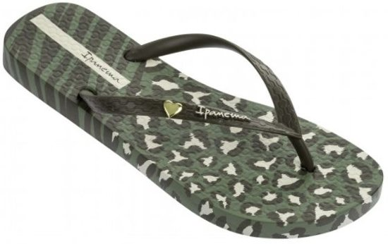 b4612f6ef04 bol.com | Ipanema Animal Print groen slippers dames