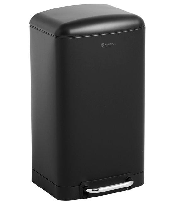 Homra FEXBY prullenbak - 30 liter pedaalemmer- zwart