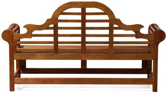 Beliani Tuinbank hout 180 cm met terracotta kussen TOSCANA MARLBORO
