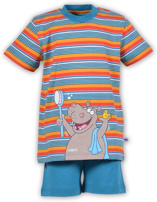 37edf899d16 bol.com | Woody pyjama nijlpaard - streep 181-1-PSU-S/954 - maat 92