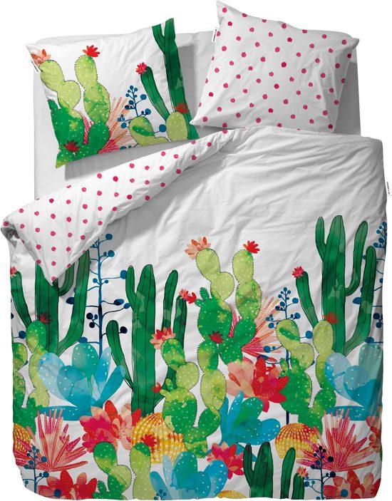 Coves & Co Cactus Dekbedovertrek - 240x220+2/60x70 - Multi