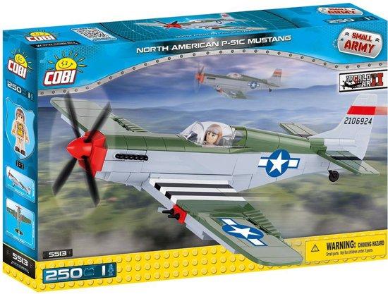 Cobi - Small Army WW2 - North American P-51C Mustang (5513)