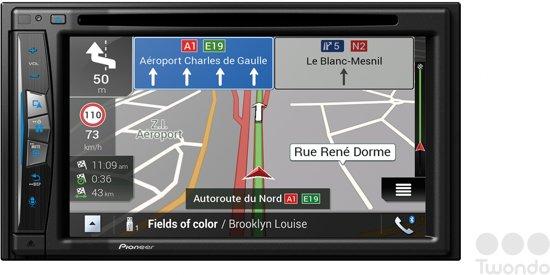 Spiksplinternieuw bol.com | Pioneer inbouw navigatie AVIC-Z610BT met 3 jaar garantie ME-62