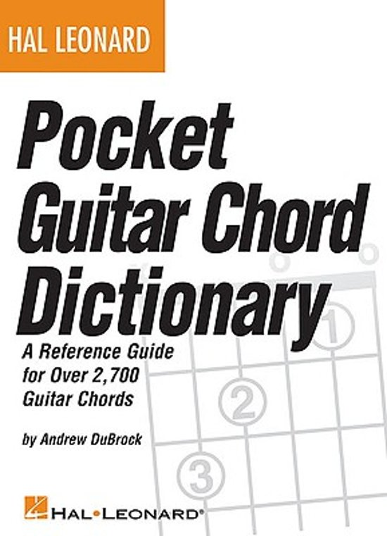 Bol Hal Leonard Pocket Guitar Chord Dictionary Andrew Dubrock