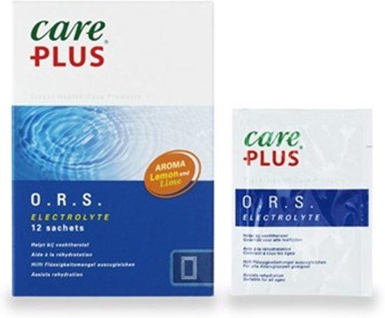 Care Plus O.R.S. Electrolyte - 12 st - Vochtherstel