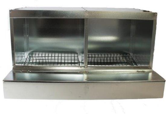 Dubbel Legnest gegalvaniseerd - Aluminium