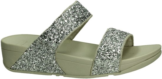 silver Glitterball Microfibre C63 011 Flop Glitter Elegante Slipper Fit Slide Zilver Maat Dames 40 wq1P4xB