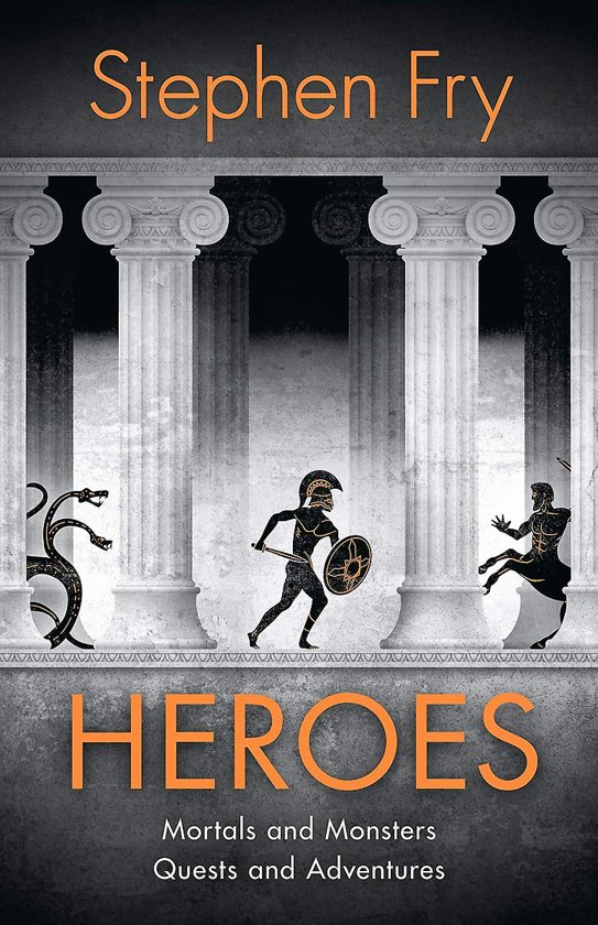 Boek cover Heroes van Stephen Fry (Paperback)