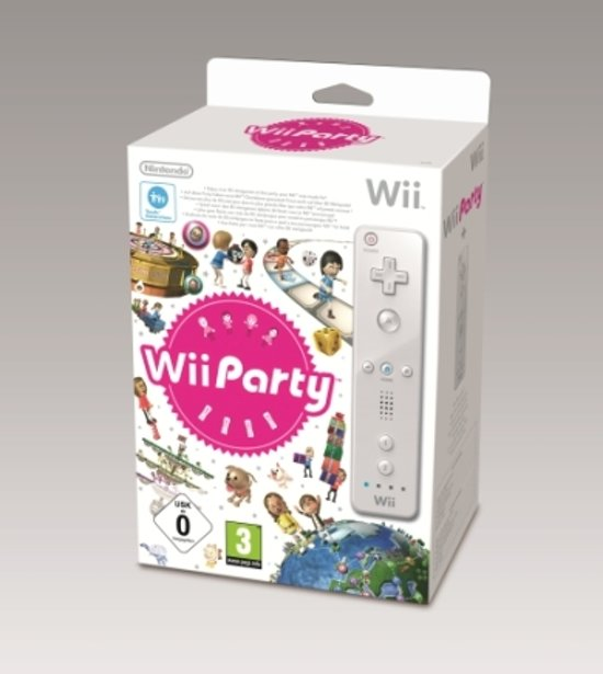 Nintendo Wii Party + Wii Remote Wit kopen