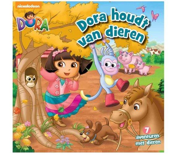 Boek cover Dora - Dora houdt van dieren van  (Hardcover)
