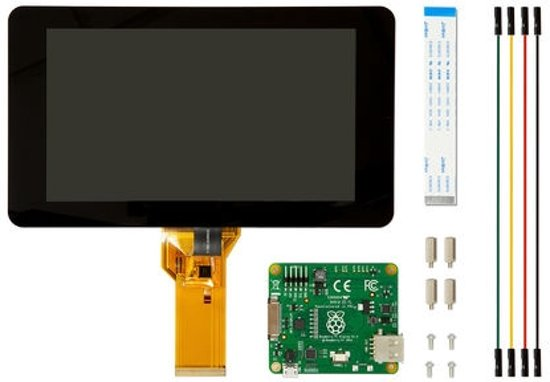 Raspberry Pi 7inch touch display LCD