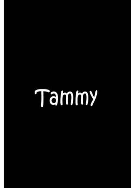 Tammy - Black Personalized Notebook / Extended Lined Pages / Soft Matte: An Ethi Pike Collectible: Custom Names