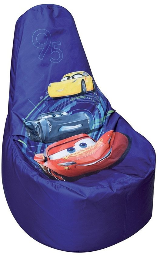 Zitzak Van Cars.Disney Zitzak Cars 67 X 59 X 54 Cm Blauw
