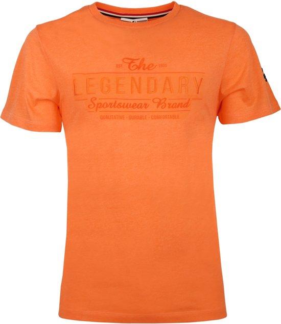 Heren T-shirt Texel  -  Oranje