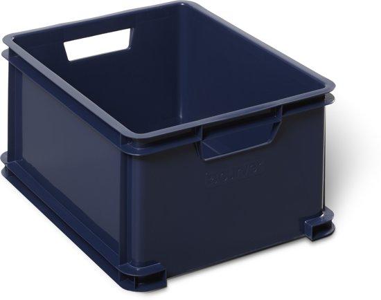 Curver Classic Unibox Opbergbox - 28 l - Donker Blauw