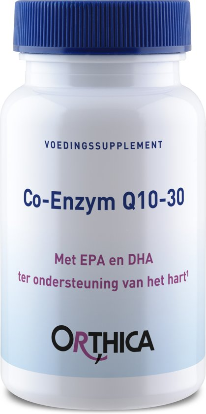 Orthica Co-Enzym Q10- 30 - 60 Softgels - Voedingssupplement