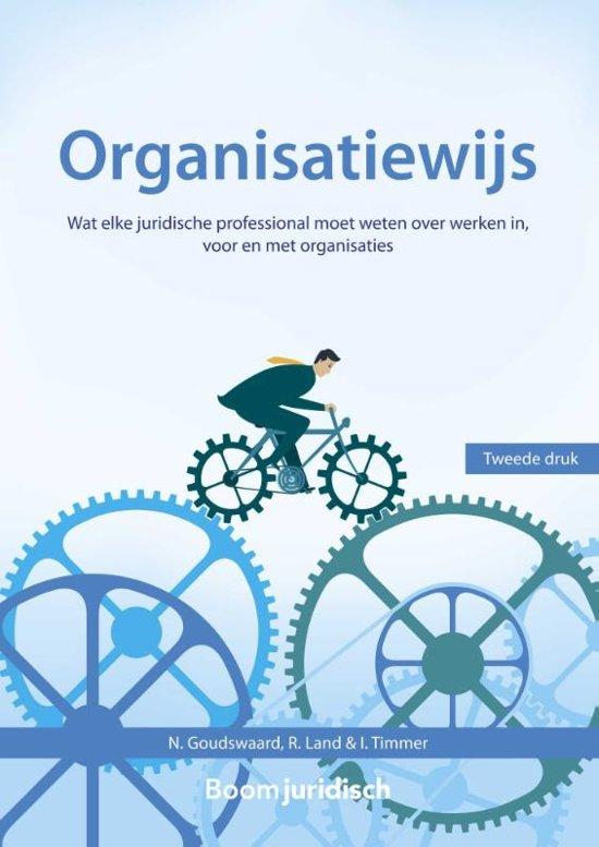 Boom Juridische studieboeken Organisatiewijs