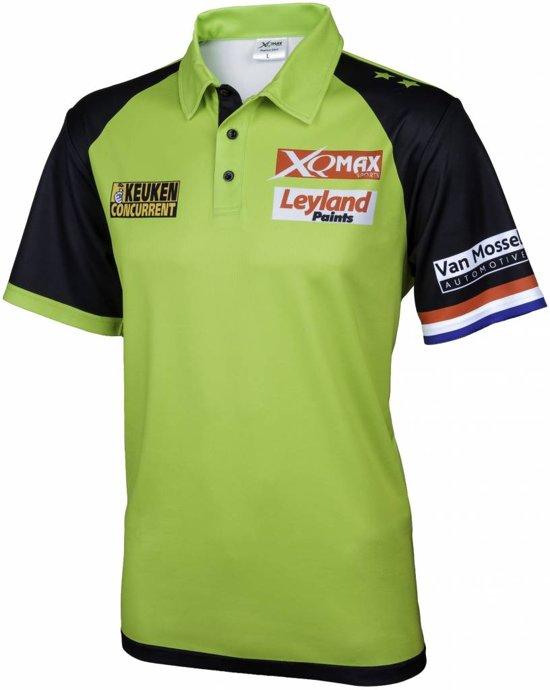 Michael van Gerwen Wedstrijd Shirt - Maat XXL - michael van gerwen shirt - dartshirt