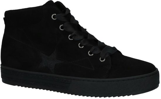 e88e8a0a530 bol.com | Gabor - 96518 - Hoge sneakers - Dames - Maat 42,5 - Zwart ...