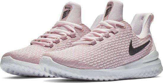 Nike Renew Rival Sportschoenen Dames - Pale Pink/Black-Plum Chalk-Vas - Maat 39