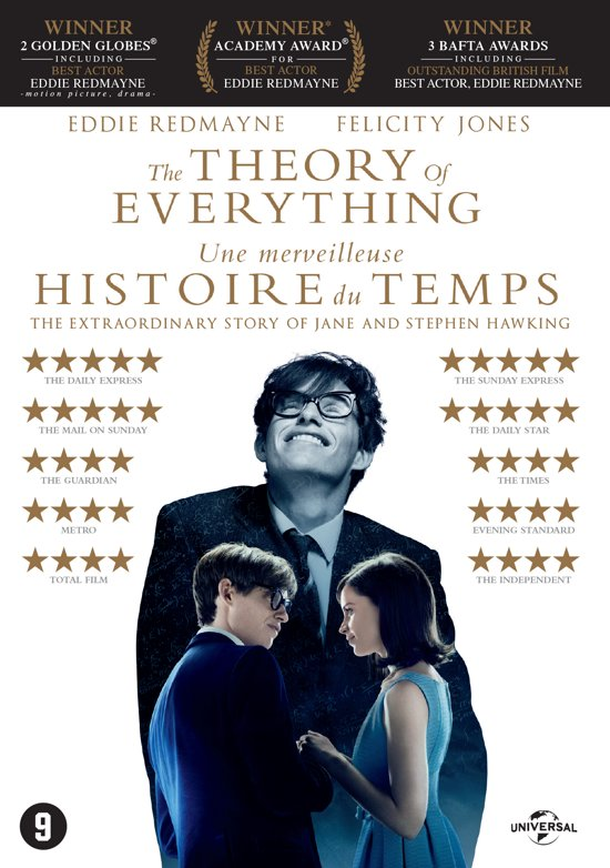 DVD cover van The Theory Of Everything