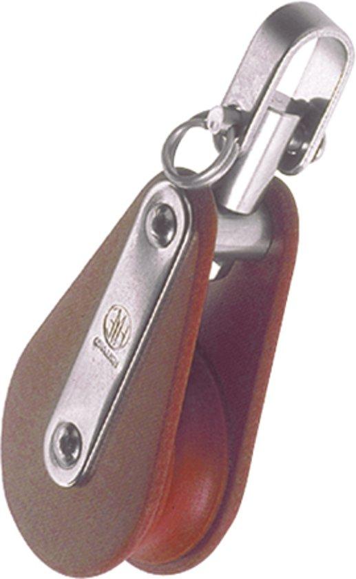 HYE 31016 enkelschijfs Blok met Wartel voor Lijn Ø 16mm