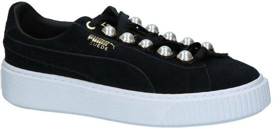87c8a04b46f bol.com | Lage Sportieve Sneakers Zwart Puma Suede Platform