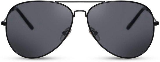 a6a365507fa561 Piloten zonnebril zwart - Mannen - Vrouwen - Metaal - Zomer - Bril -  Orange85