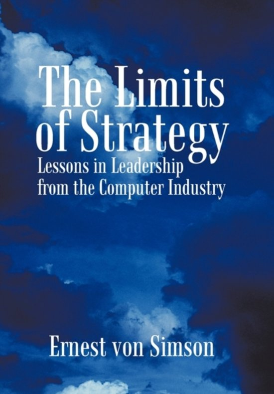 The Limits of Strategy