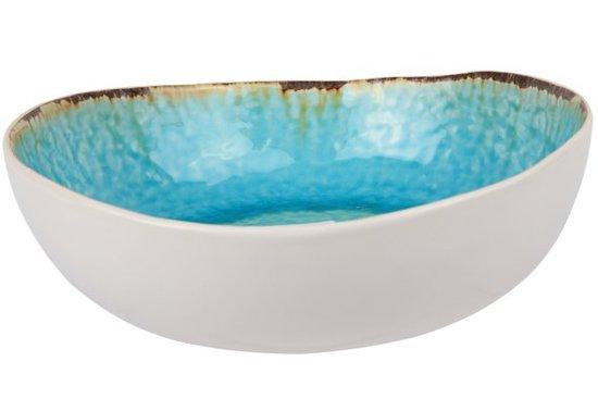 Cosy&Trendy Laguna Schaal - 21x20 cm - Blauw - 4 stuks