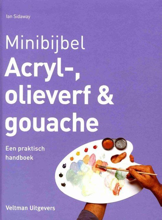 Minibijbel - Acryl-, olieverf en gouache