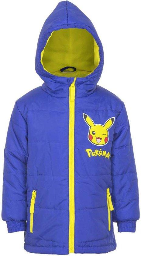 Kinder Winterjas.Bol Com Kinder Winterjas Pikachu Blauw Pokemon