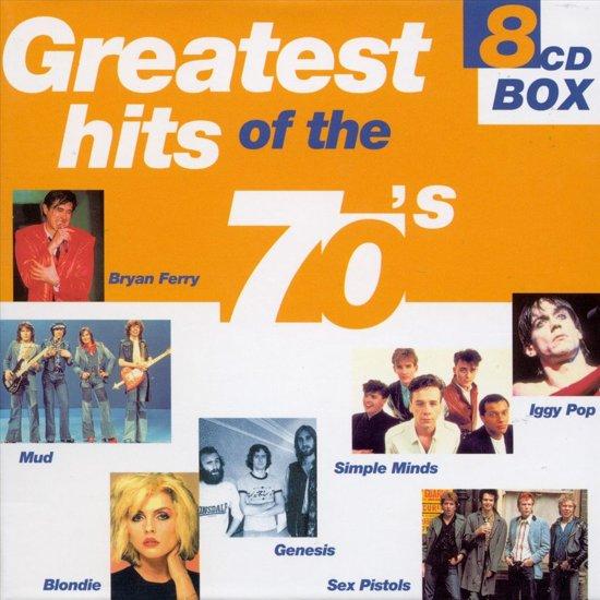 CD cover van Greatest Hits of the 70s [Disky Box] van Racey