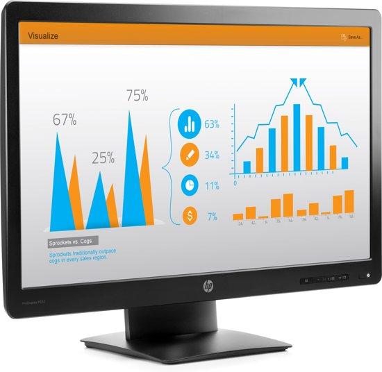 HP ProDisplay P232 23'' Full HD LED Zwart computer monitor