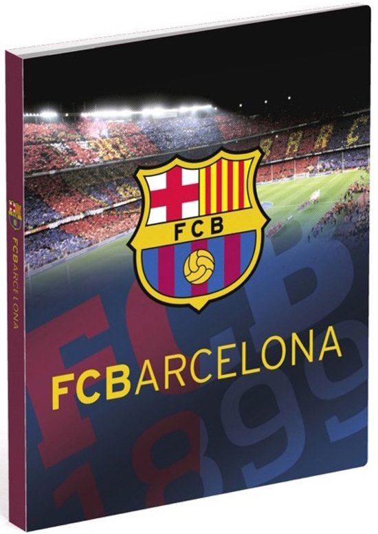 Fc Barcelona Ringband A4 Stadion 2-rings Polypropyleen