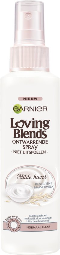 Garnier Loving Blends Milde Haver Ontwarrende Spray - 150 ml - Leave-In Spray