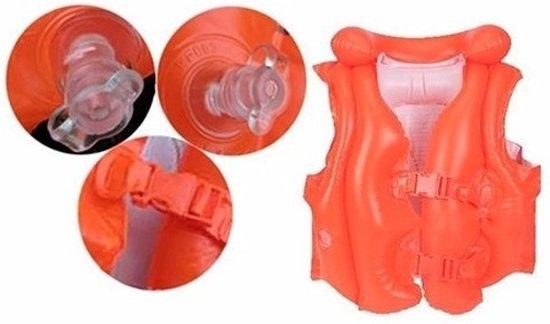 Oranje zwemvest 3-6 jaar