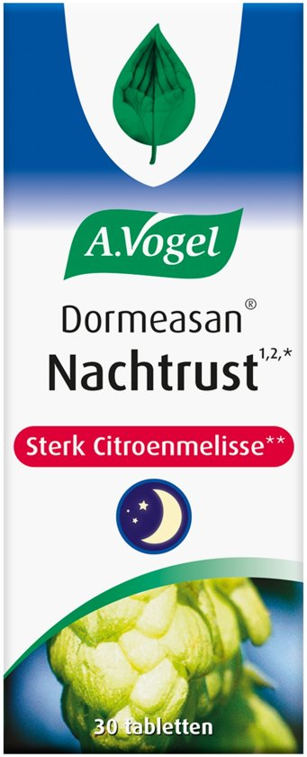 A.Vogel Dormeasan Nachtrust Extra Sterk - 30 Tabletten - Voedingssupplement