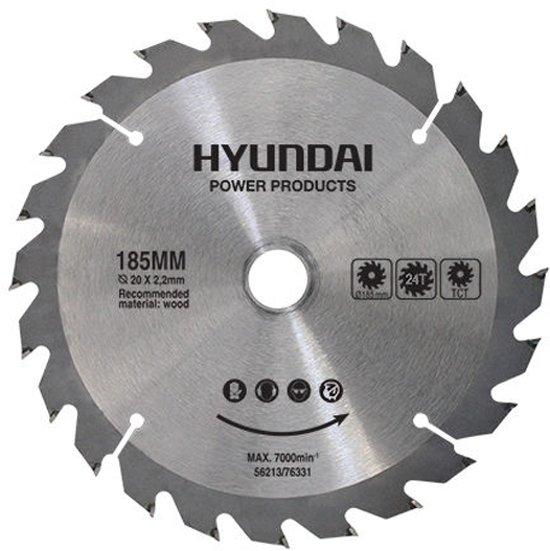 Hyundai zaagblad 24T/185mm voor de 56212