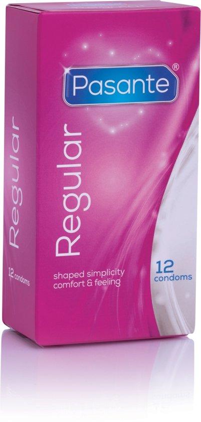 Pasante Regular condooms 12 stuks